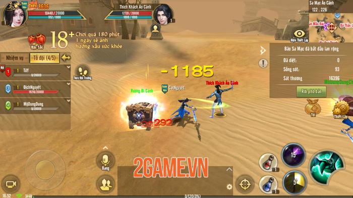 Tân Thiên Long Mobile VNG sắp cho người chơi chạy bo sinh tồn đầy dị biệt 4