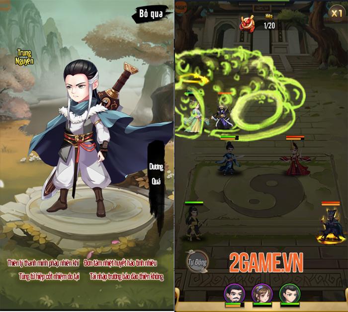 Trải nghiệm Đại Hiệp Truyện: Game đấu tướng Võ hiệp dễ chơi dễ nghiện 0