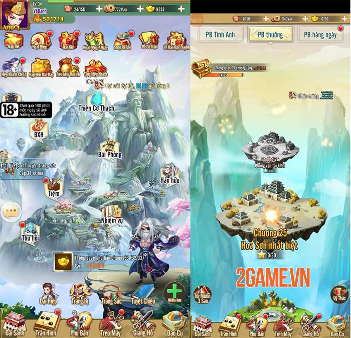 Trải nghiệm Đại Hiệp Truyện: Game đấu tướng Võ hiệp dễ chơi dễ nghiện 5