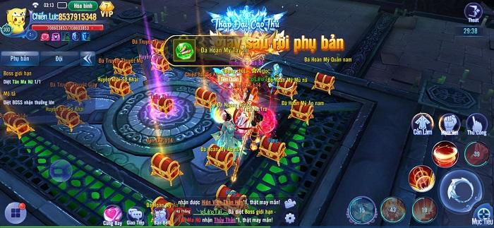 Game thủ Kiếm Ma 3D vẫn cạnh tranh khốc liệt dù nhìn đâu cũng thấy Boss 1