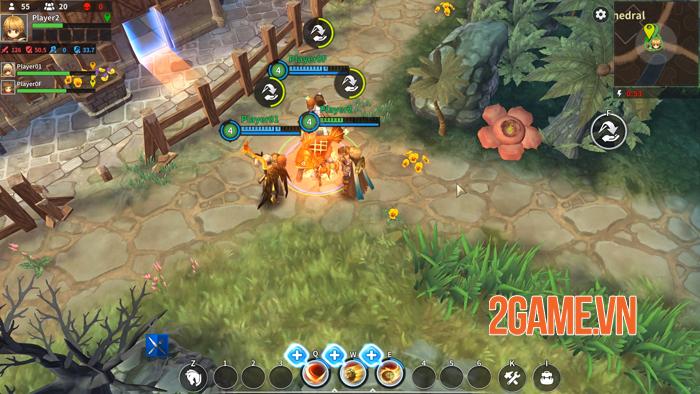 Royal Crown – Game MOBA sinh tồn lấy đồ họa kiểu Ragnarok Online 0