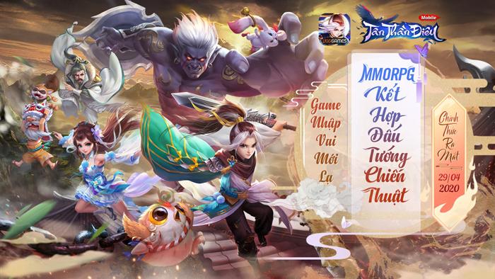 Tân Thần Điêu VNG: Game nhập vai đấu tướng thế hệ mới là đây! 0