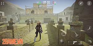 Cảm nhận Rogue Agents: Game bắn súng hành động đã tay trên mobile