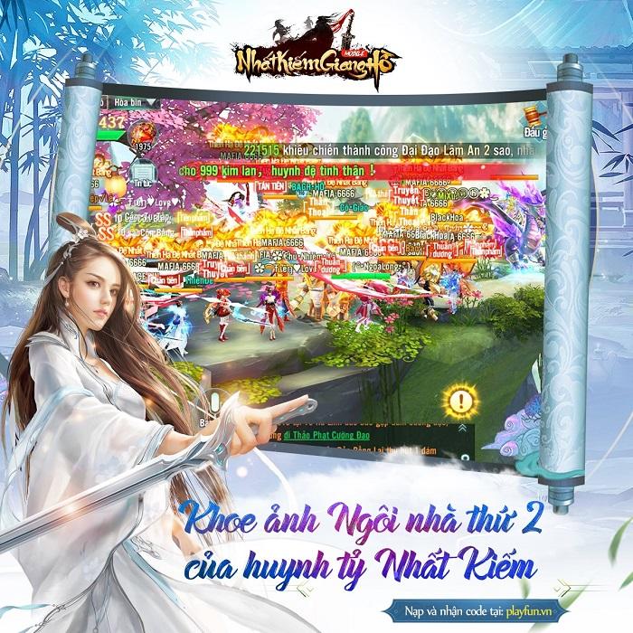 Nhất Kiếm Giang Hồ khai mở giải đấu Bang Chiến Liên Server mùa 1 2