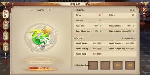 Người chơi Tân Thiên Long Mobile VNG tăng lực chiến vù vù nhờ tính năng mới Long Văn