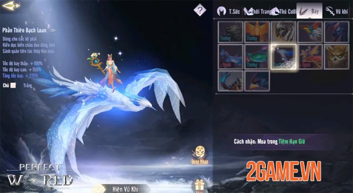 Tha hồ phát triển sức mạnh nhân vật trong Perfect World VNG 9