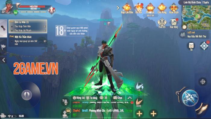 Tha hồ phát triển sức mạnh nhân vật trong Perfect World VNG 7