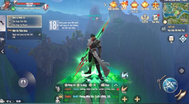Tha hồ phát triển sức mạnh nhân vật trong Perfect World VNG