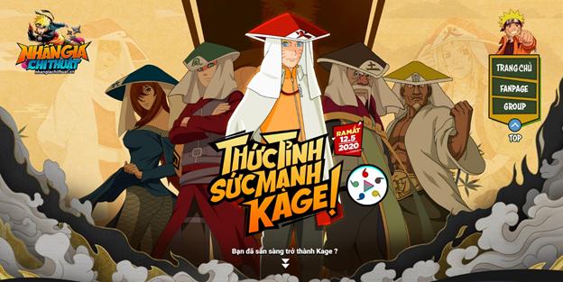 Nhẫn Giả Chi Thuật – Game Naruto tiên phong đưa hồn Việt vào game ấn định ra mắt 0