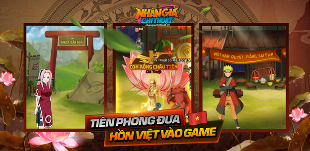 Nhẫn Giả Chi Thuật – Game Naruto tiên phong đưa hồn Việt vào game ấn định ra mắt 1