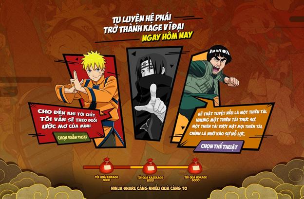 Nhẫn Giả Chi Thuật – Game Naruto tiên phong đưa hồn Việt vào game ấn định ra mắt 2