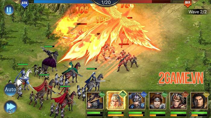 Three Kingdoms: Raja Chaos - Game quản lý quân sự tái hiện lại lịch sử Tam Quốc 2