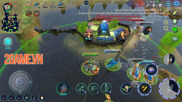 Sea War - Đấu trường MOBA 5vs5 bối cảnh tàu chiến đầy ấn tượng 3