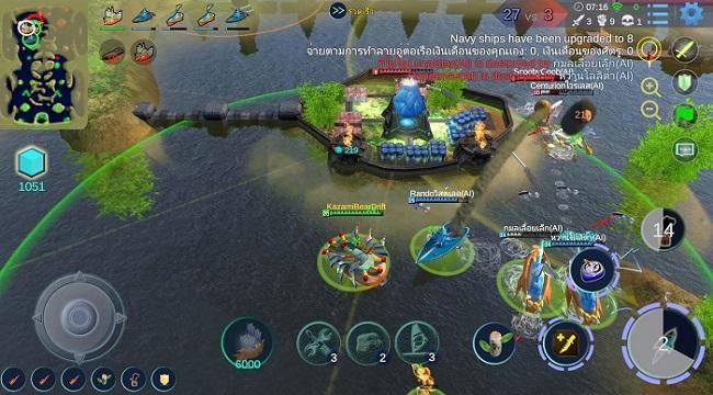 Sea War – Đấu trường MOBA 5vs5 bối cảnh tàu chiến đầy ấn tượng