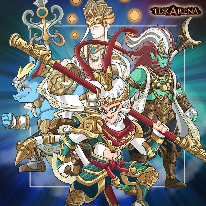 TDK Arena - Game Idle RPG có cốt truyện Tây Du chưa từng được kể trước đây 0