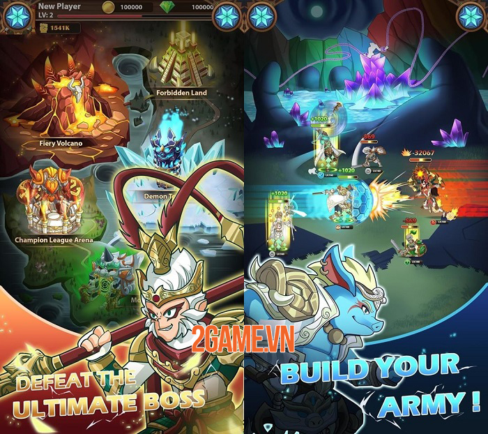 TDK Arena - Game Idle RPG có cốt truyện Tây Du chưa từng được kể trước đây 2