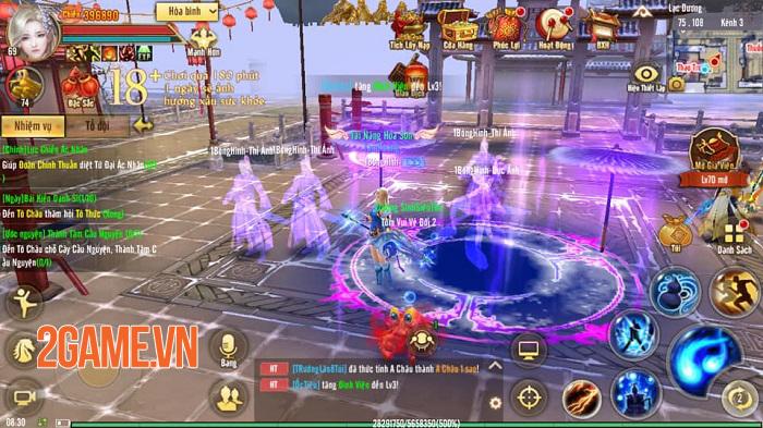 Vừa ra mắt Quỷ Cốc xong Tân Thiên Long Mobile VNG liền nhá hàng thêm môn phái mới 0