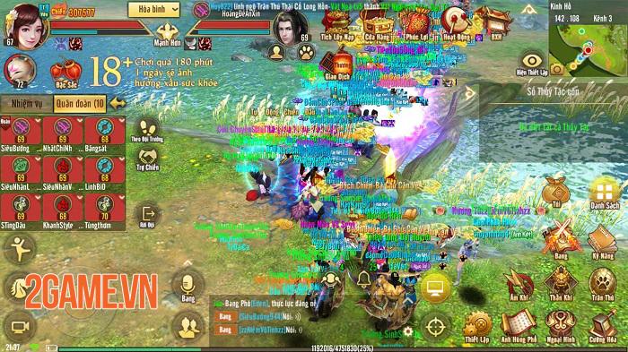 Vừa ra mắt Quỷ Cốc xong Tân Thiên Long Mobile VNG liền nhá hàng thêm môn phái mới 1