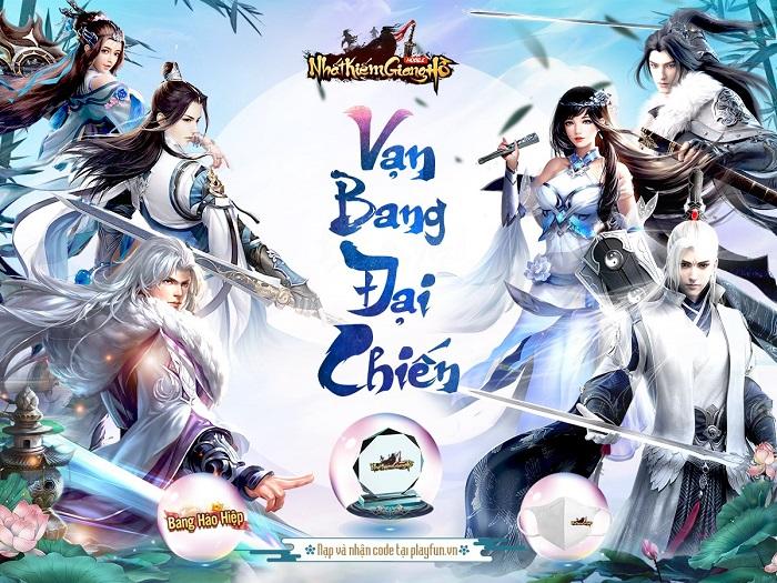 Nhất Kiếm Giang Hồ lần đầu tiên tổ chức siêu giải đấu Bang Chiến Liên Server 0