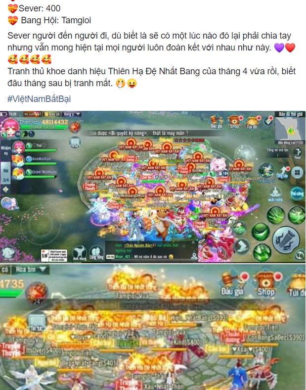 Nhất Kiếm Giang Hồ lần đầu tiên tổ chức siêu giải đấu Bang Chiến Liên Server 1