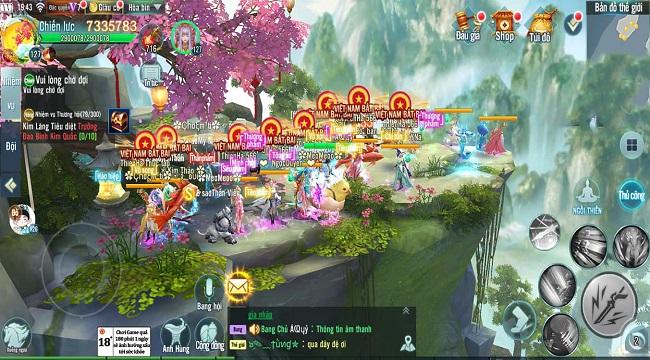 Nhất Kiếm Giang Hồ lần đầu tiên tổ chức siêu giải đấu Bang Chiến Liên Server