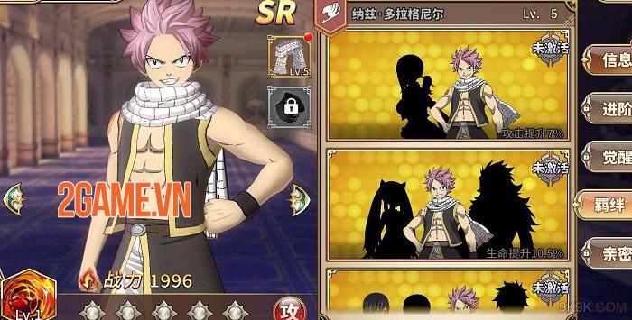 Game manga đánh theo lượt Fairy Tail Mobile đã mở cửa thử nghiệm 1