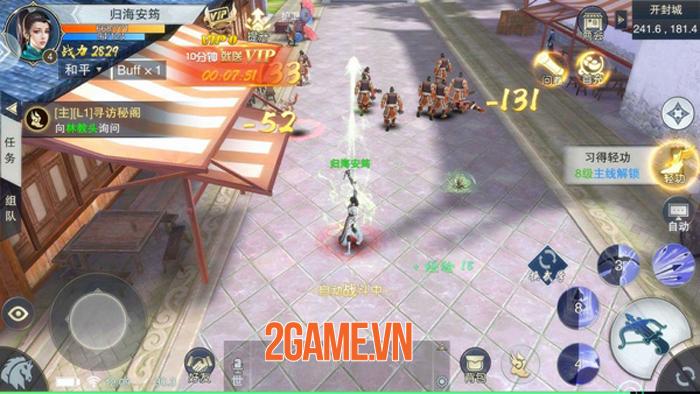 Chơi thử Nhất Mộng Giang Hồ: MMORPG quy tụ các bậc thầy vũ khí và tuyệt học 5