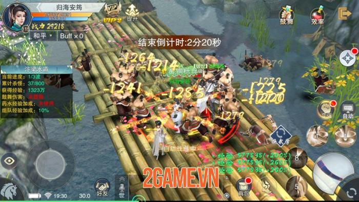 Chơi thử Nhất Mộng Giang Hồ: MMORPG quy tụ các bậc thầy vũ khí và tuyệt học 4