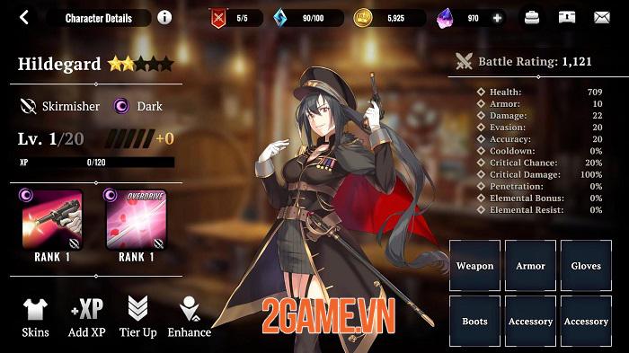 Grand Alliance - Game nhập vai phong cách anime cho tùy biến đội hình đa dạng 2