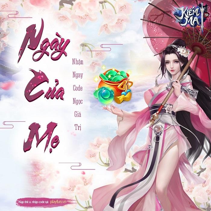 Kiếm Ma 3D mang đến sự kiện gắn kết yêu thương nhân Ngày của mẹ 1