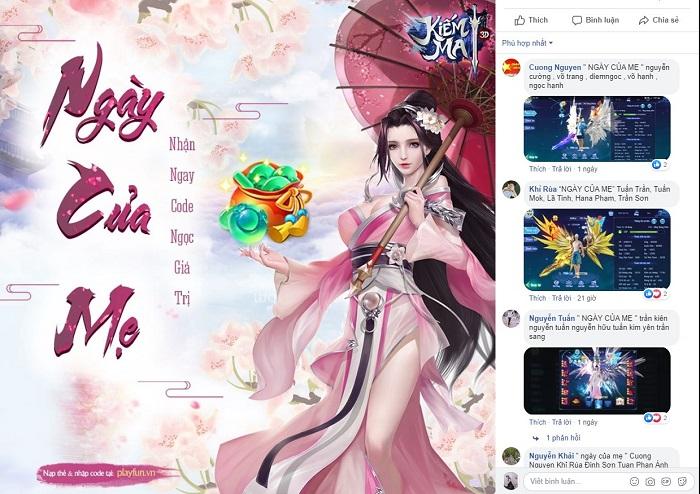 Kiếm Ma 3D mang đến sự kiện gắn kết yêu thương nhân Ngày của mẹ 2