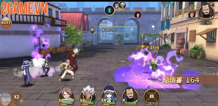 Game manga đánh theo lượt Fairy Tail Mobile đã mở cửa thử nghiệm 2