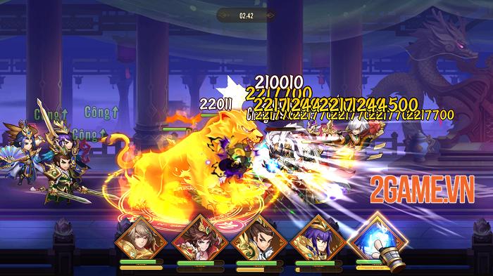 Thiếu Niên Danh Tướng 3Q chất từ đồ họa đến gameplay 0