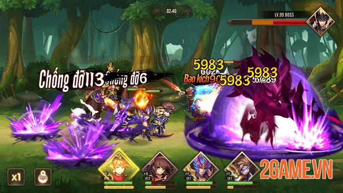 Thiếu Niên Danh Tướng 3Q chất từ đồ họa đến gameplay 4