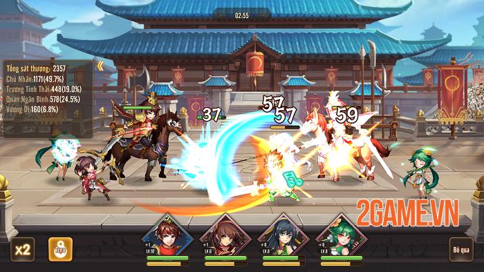 Thiếu Niên Danh Tướng 3Q chất từ đồ họa đến gameplay 3