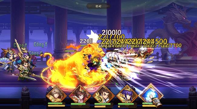 Thiếu Niên Danh Tướng 3Q chất từ đồ họa đến gameplay