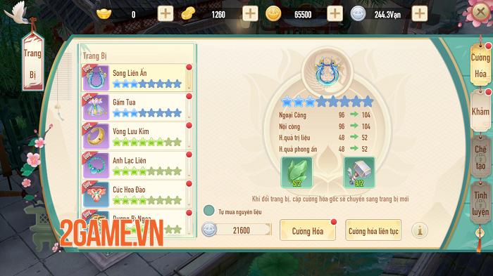 Tân Thần Điêu VNG sở hữu chuỗi tính năng nhập vai đồ sộ, mở ra nhiều hướng phát triển nhân vật 4