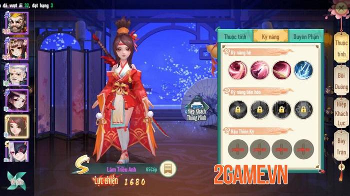 Tân Thần Điêu VNG sở hữu chuỗi tính năng nhập vai đồ sộ, mở ra nhiều hướng phát triển nhân vật 1