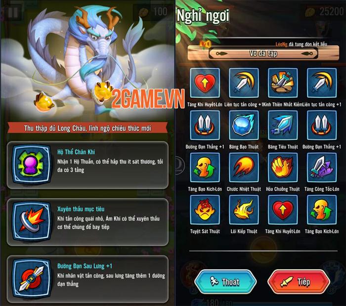 Mỗi loại vũ khí trong Đại Hiệp Piu Piu Piu mang đến một kiểu chiến đấu khác nhau 3