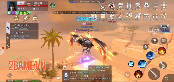Game fantasy đẹp mắt Kỷ Nguyên Huyền Thoại về Việt Nam 2