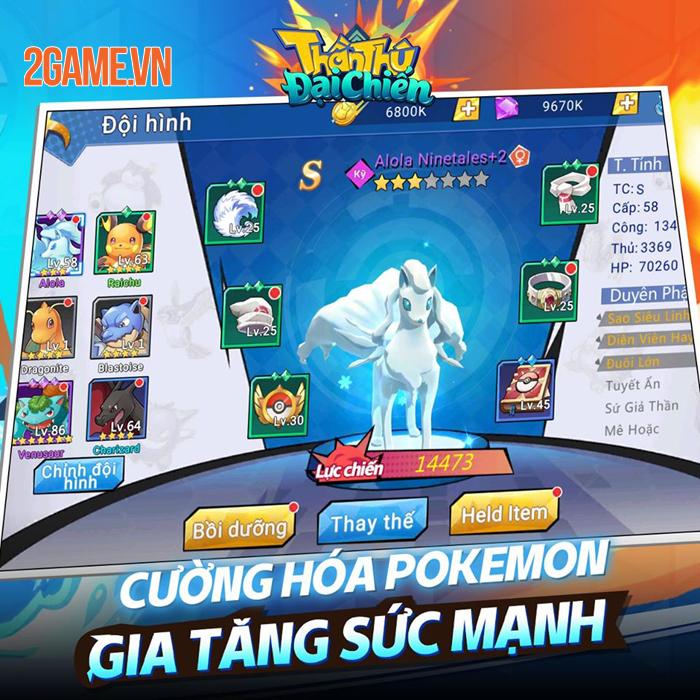 Game Pokemon mới Thần Thú 3D Mobile cập bến Việt Nam 0