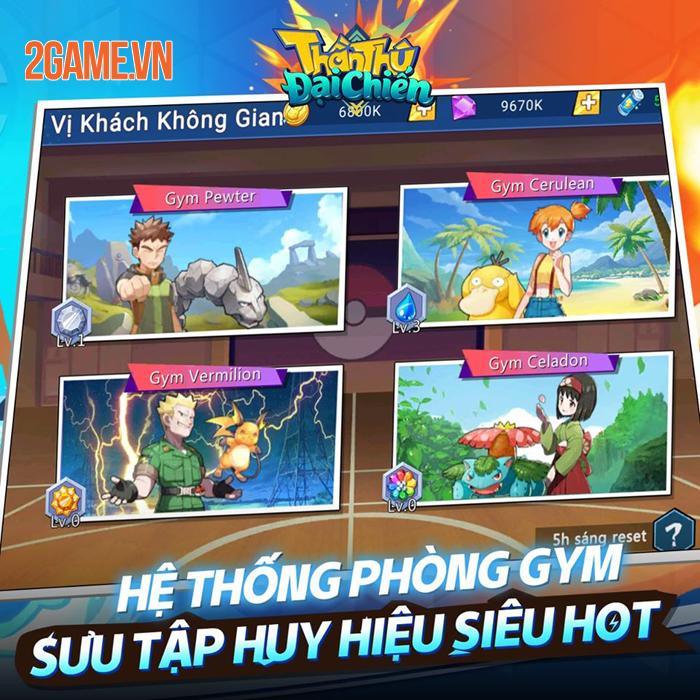 Game Pokemon mới Thần Thú 3D Mobile cập bến Việt Nam 3
