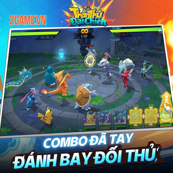 Game Pokemon mới Thần Thú 3D Mobile cập bến Việt Nam 1