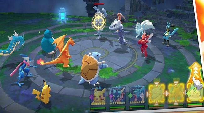 Game Pokemon mới Thần Thú 3D Mobile cập bến Việt Nam