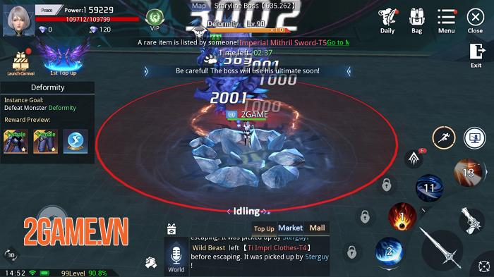 Kỷ Nguyên Huyền Thoại có lối chơi nhập vai điển hình trên nền đồ họa siêu ấn tượng 5