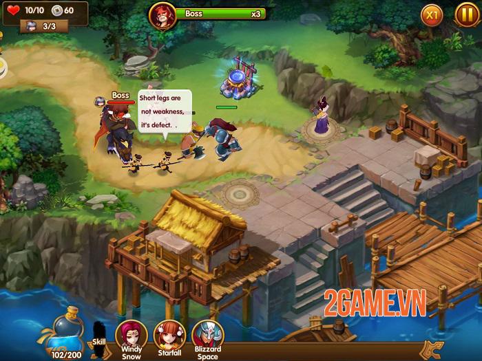 Pocket Kingdom TD - Game phòng thủ tháp pha trộn giữa cũ và mới 2