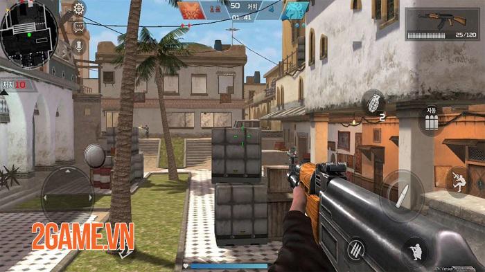 Red Dot: Front Line chất lừ với đồ họa đẹp và các chế độ chơi đa dạng 3