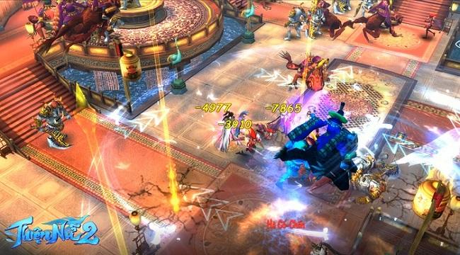 Thiện Nữ 2 kế thừa và phát triển các tính năng đậm màu sắc MMORPG truyền thống