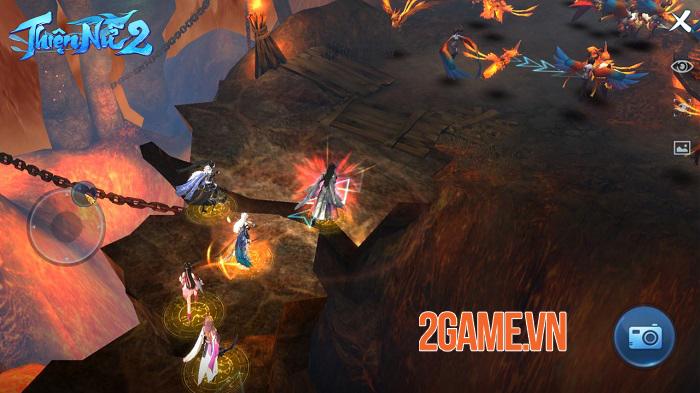 Thiện Nữ 2 kế thừa và phát triển các tính năng đậm màu sắc MMORPG truyền thống 5