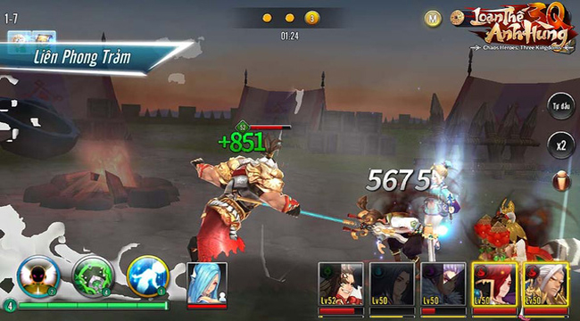 Nhiều người trông ngóng game đấu tướng cân bằng Loạn Thế Anh Hùng 3Q ra mắt